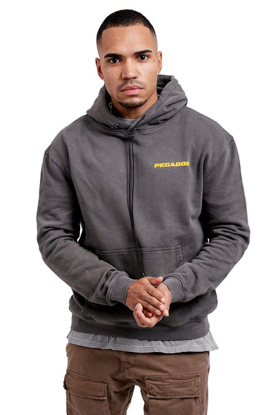 Yeto Private Hoodie Washed Grey