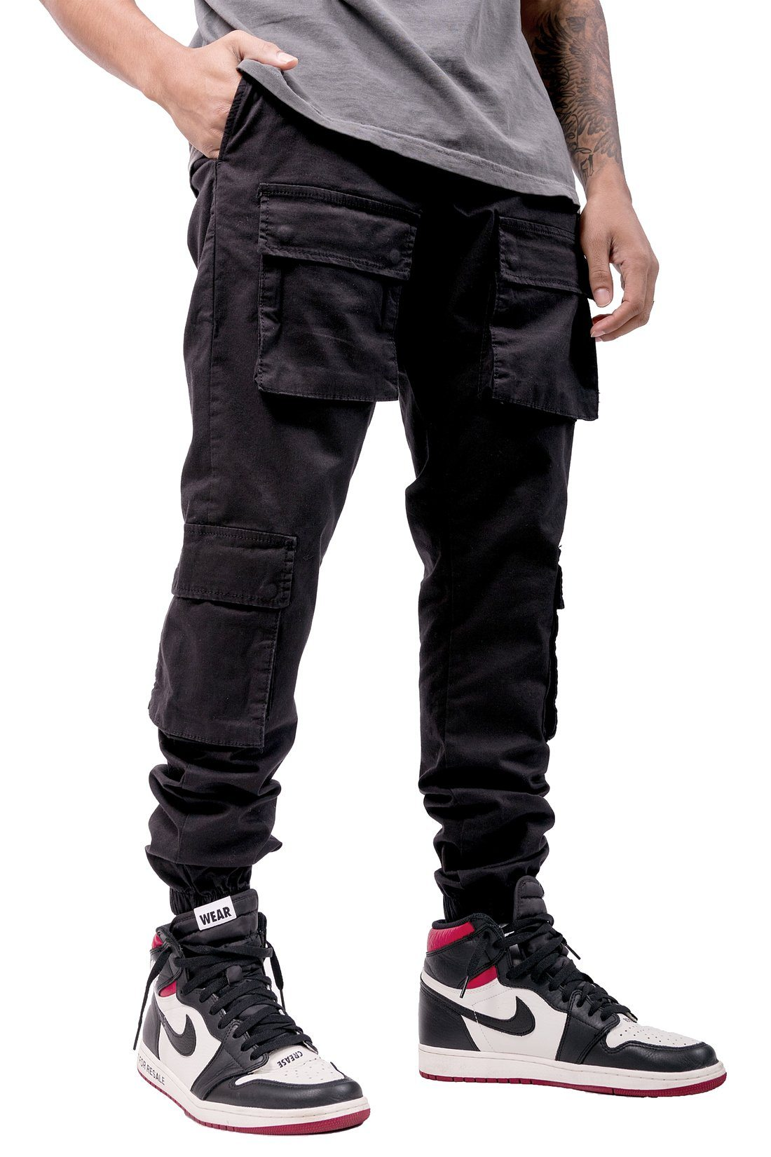 Lyon Cargo Pants Black