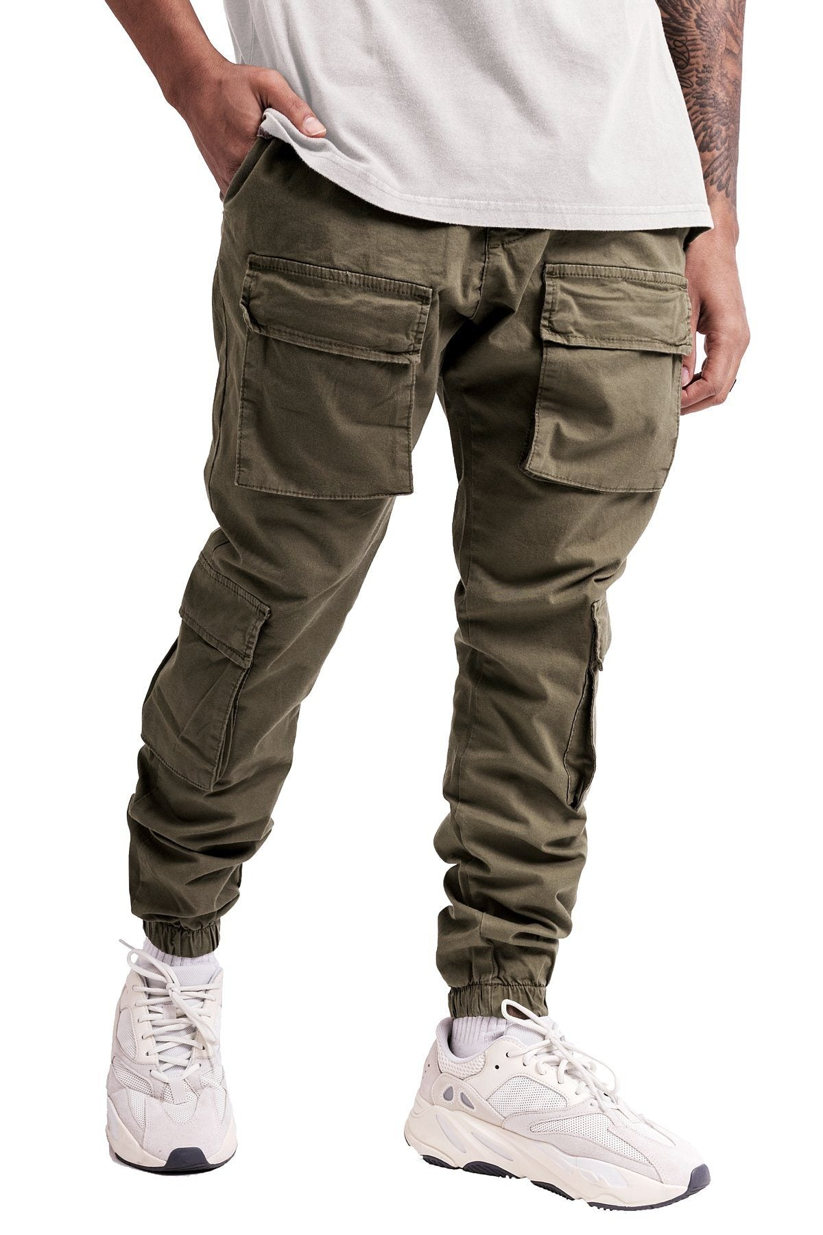 Lyon Cargo Pants Olive - PEGADOR - Dominate the Hype