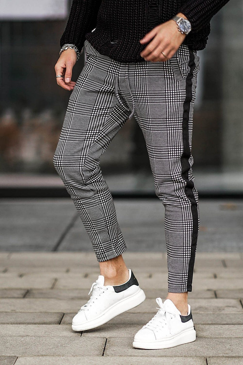 Luca Stripe Pants Black - PEGADOR - Dominate the Hype