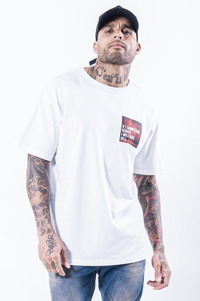 Mayon Oversized Tee White - PEGADOR - Dominate the Hype