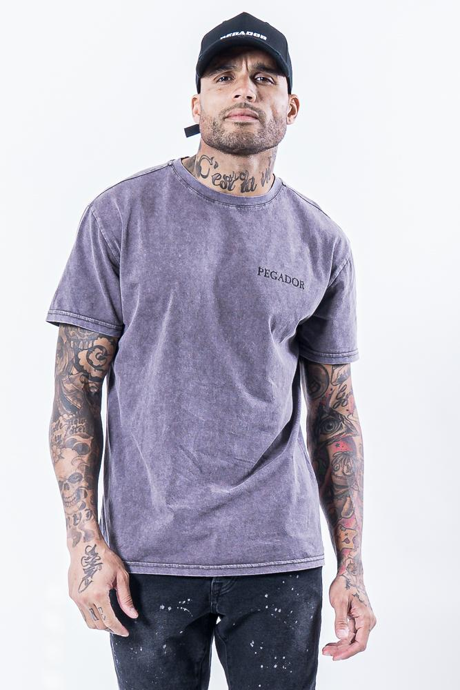 Romo Logo Tee Washed Grey