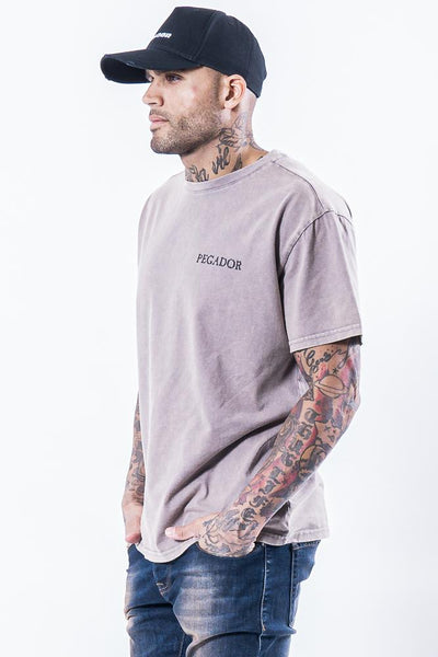 Romo Logo Tee Washed Sand