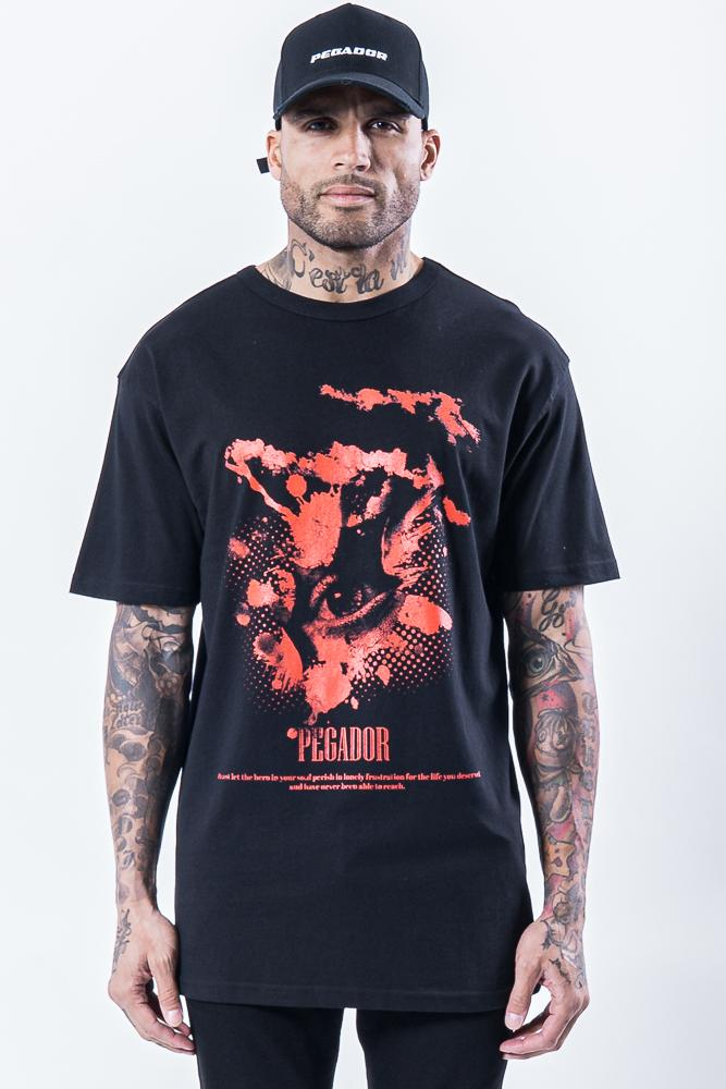 Hell Eye Oversized Tee Black - PEGADOR - Dominate the Hype