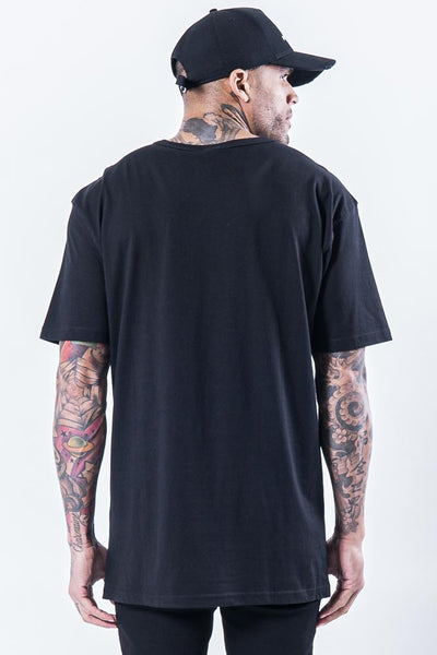 Hell Eye Oversized Tee Black