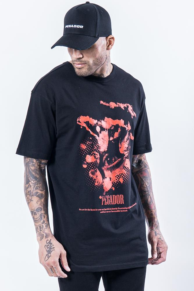 Hell Eye Oversized Tee Black T-SHIRT PEGADOR