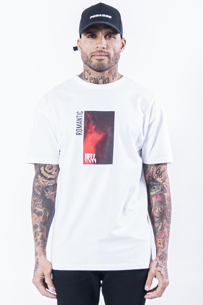 Venedig Oversized Tee White - PEGADOR - Dominate the Hype