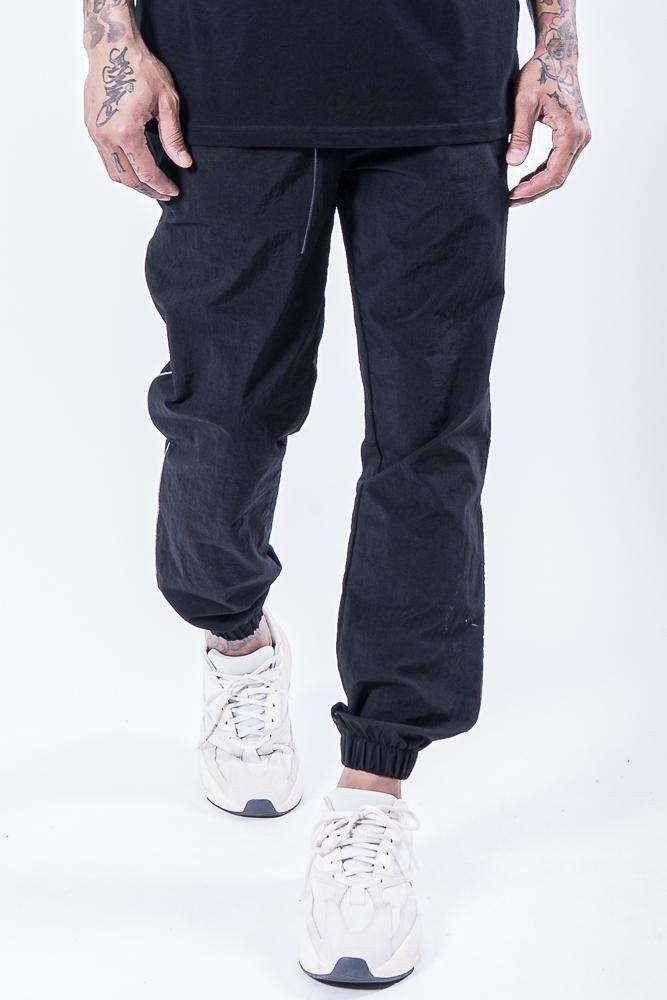 Leon Woven Pants Black Reflective