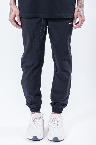 Leon Woven Pants Black Reflective - PEGADOR - Dominate the Hype