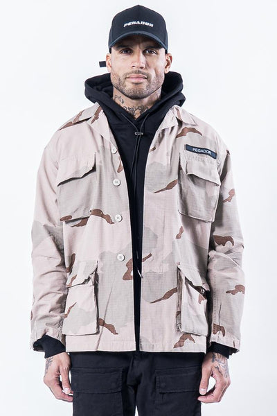 Zimo Camouflage Jacket Light - PEGADOR - Dominate the Hype