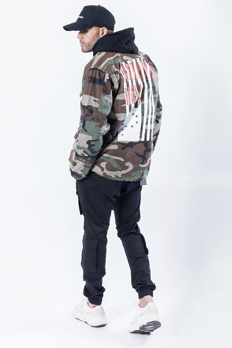Zimo Camouflage Jacket Dark - PEGADOR - Dominate the Hype