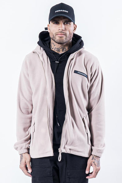 Turin Fleece Jacket Stone