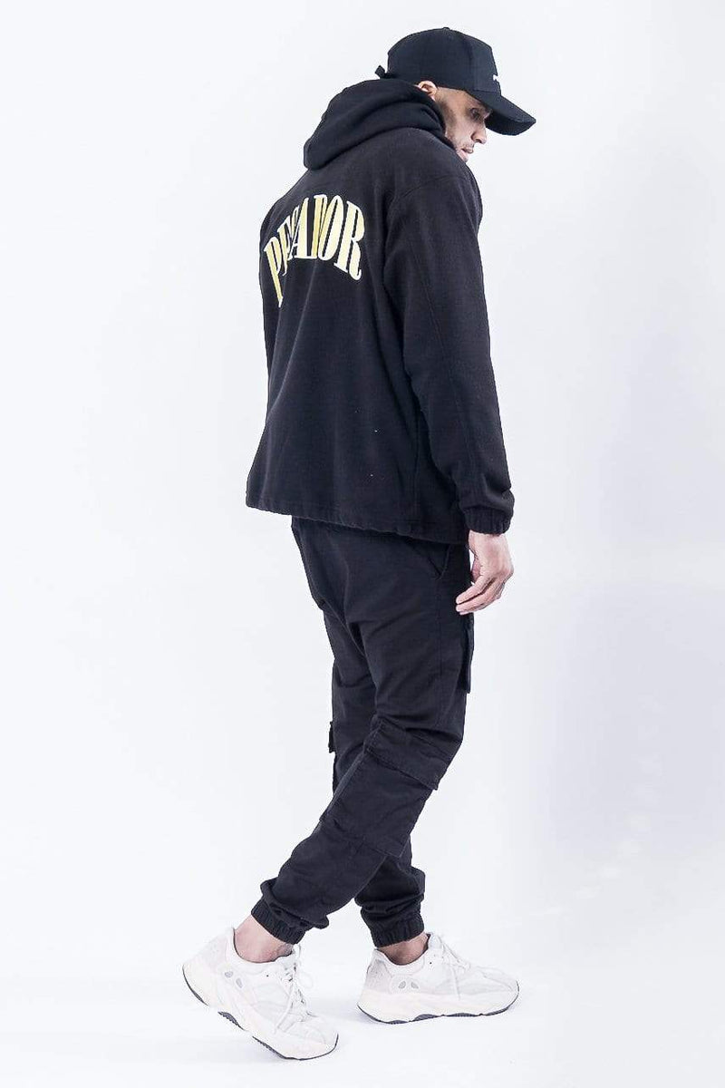 Turin Fleece Jacket Black - PEGADOR - Dominate the Hype