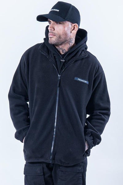 Turin Fleece Jacket Black