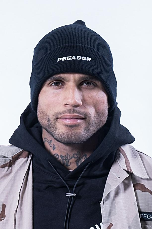 Xanto Logo Beanie Black - PEGADOR - Dominate the Hype