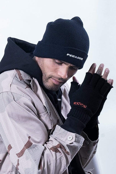 Vento Fingerless Gloves Black