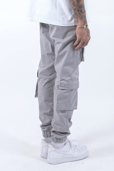 Lyon Cargo Pants Grey - PEGADOR - Dominate the Hype