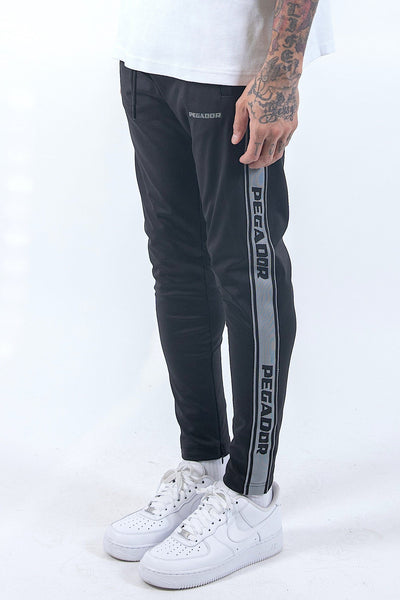 Logo Sweat Pants Black Anthracite - PEGADOR - Dominate the Hype