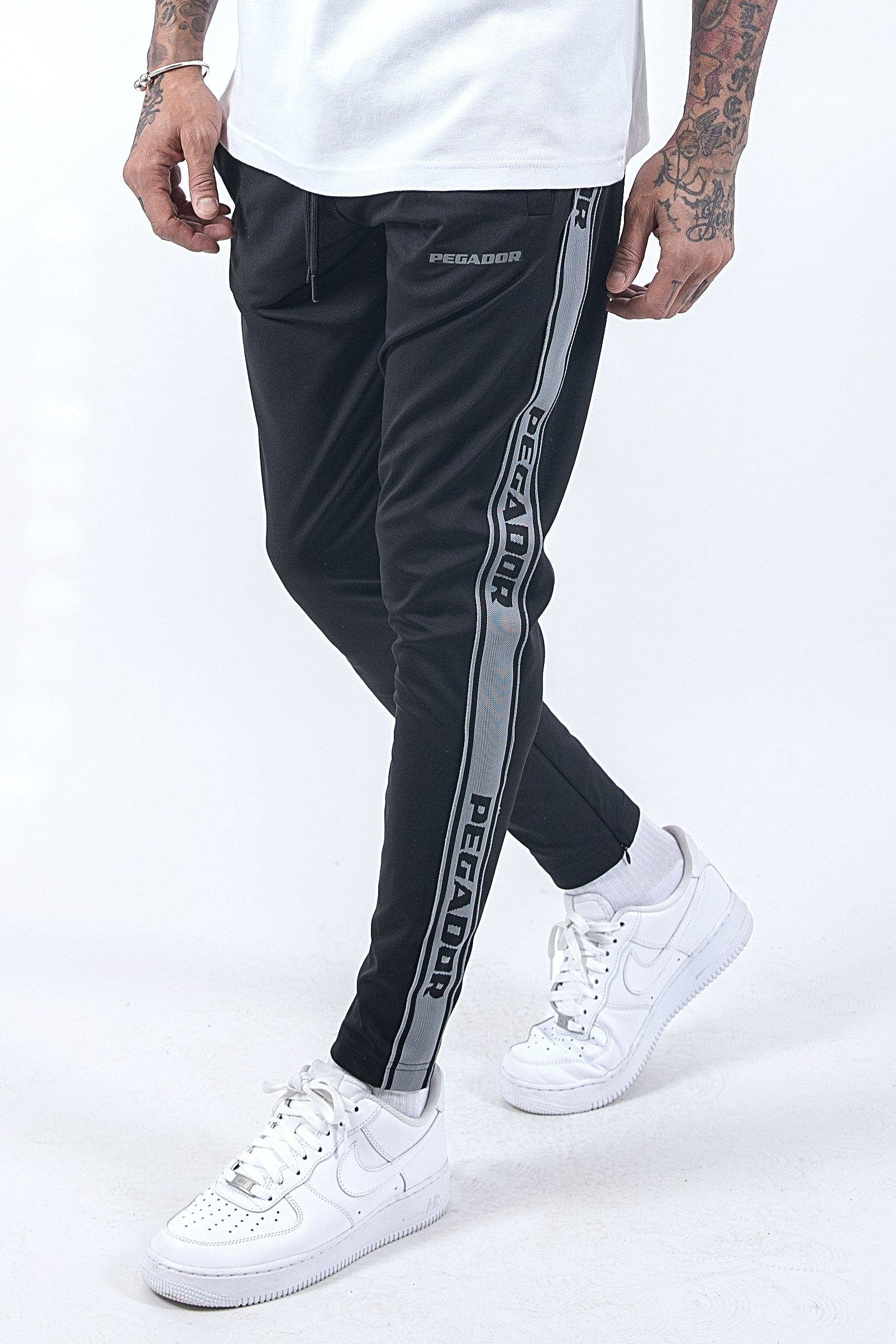 Logo Sweat Pants Black Anthracite SWEAT PANTS PEGADOR