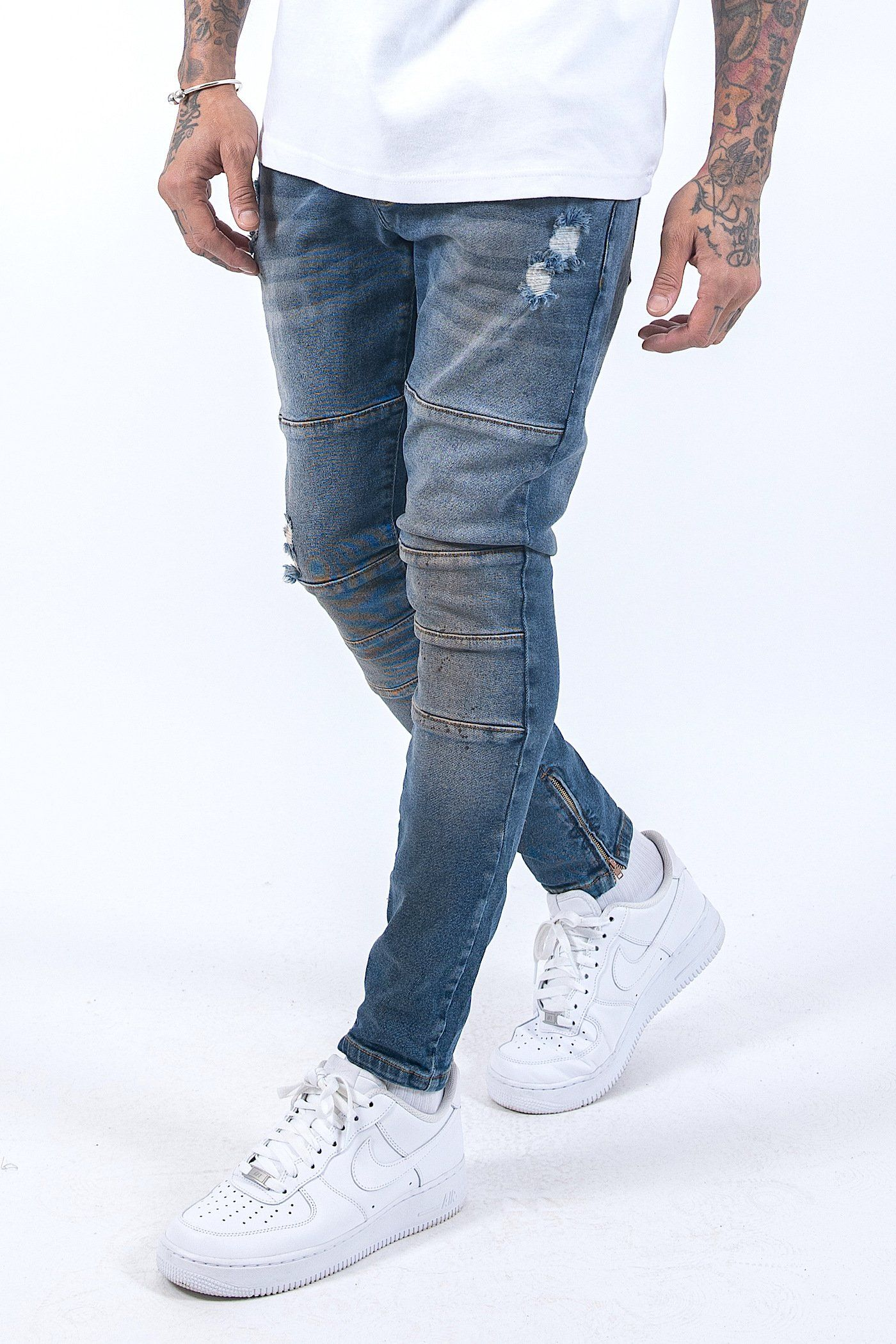 Thiago Jeans Washed Blue - PEGADOR - Dominate the Hype