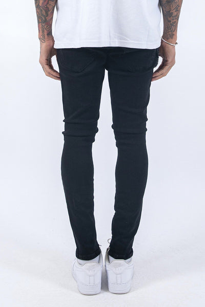 Chayne Destroyed Jeans Black - PEGADOR - Dominate the Hype