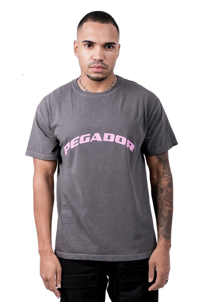 Craig Oversized Tee Washed Black Rose - PEGADOR - Dominate the Hype