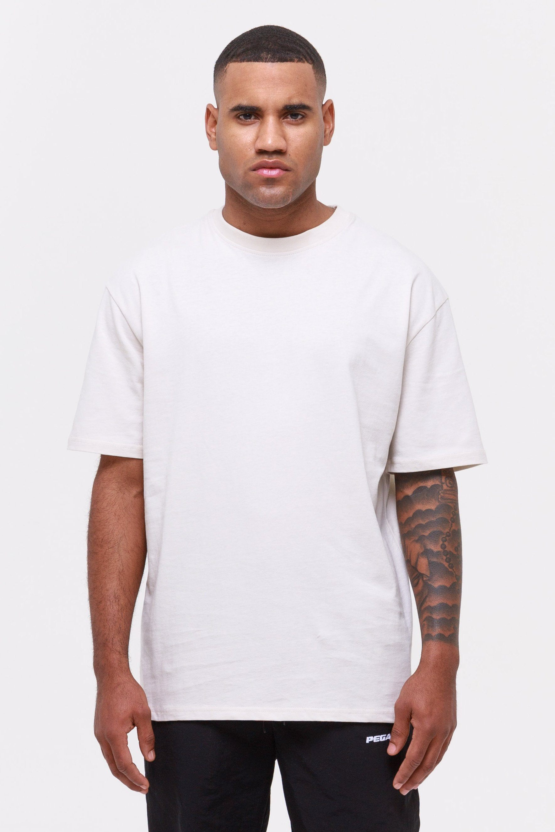 Oversized Tee Coconut Milk T-SHIRT Wild Society