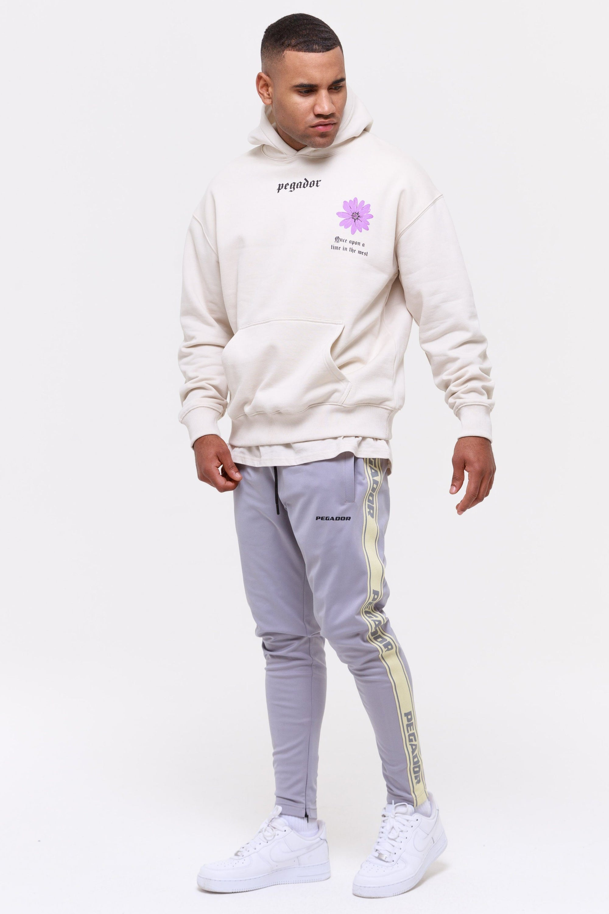 Logo Sweatpants Grey Coconut Milk Pants Wild Society