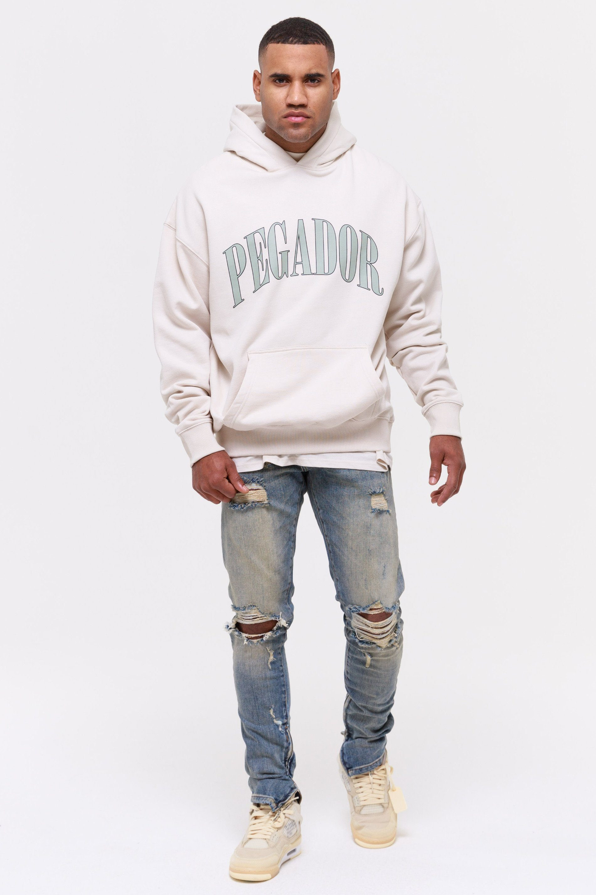 Cali Oversized Hoodie Coconut Milk Hoodies Wild Society