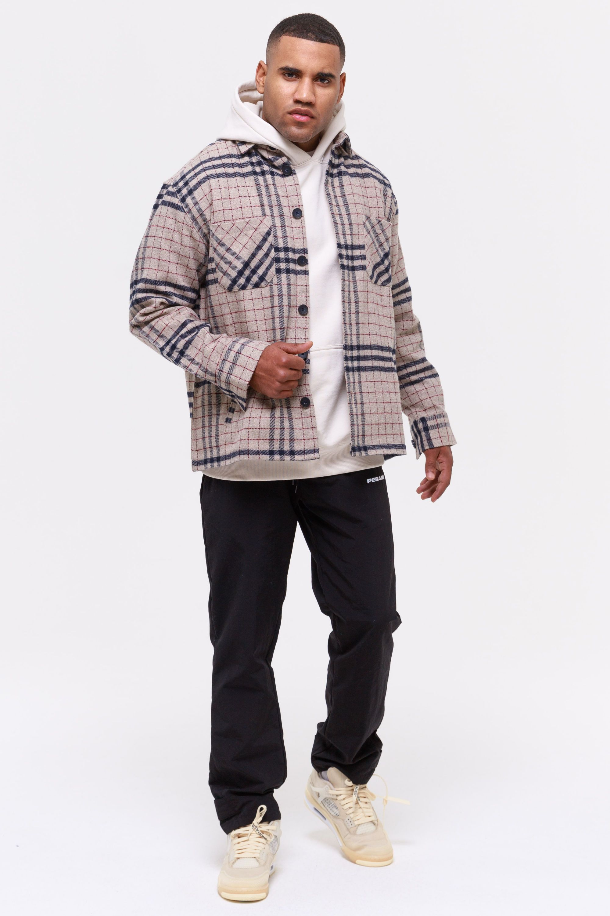 Flato Heavy Wool Flannel Shirt Cookie SHIRT Wild Society