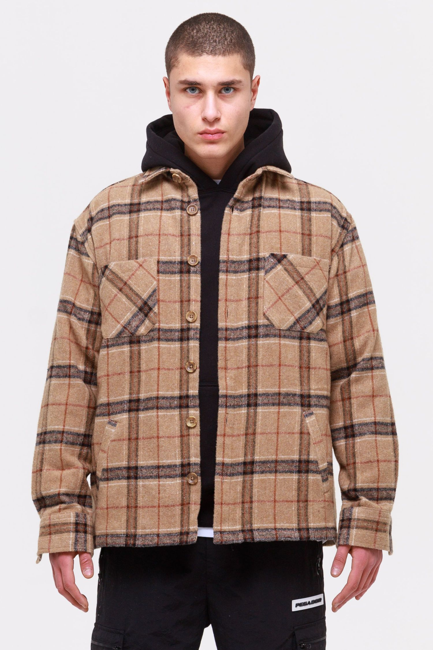Flato Heavy Wool Flannel Shirt Valley SHIRT Wild Society