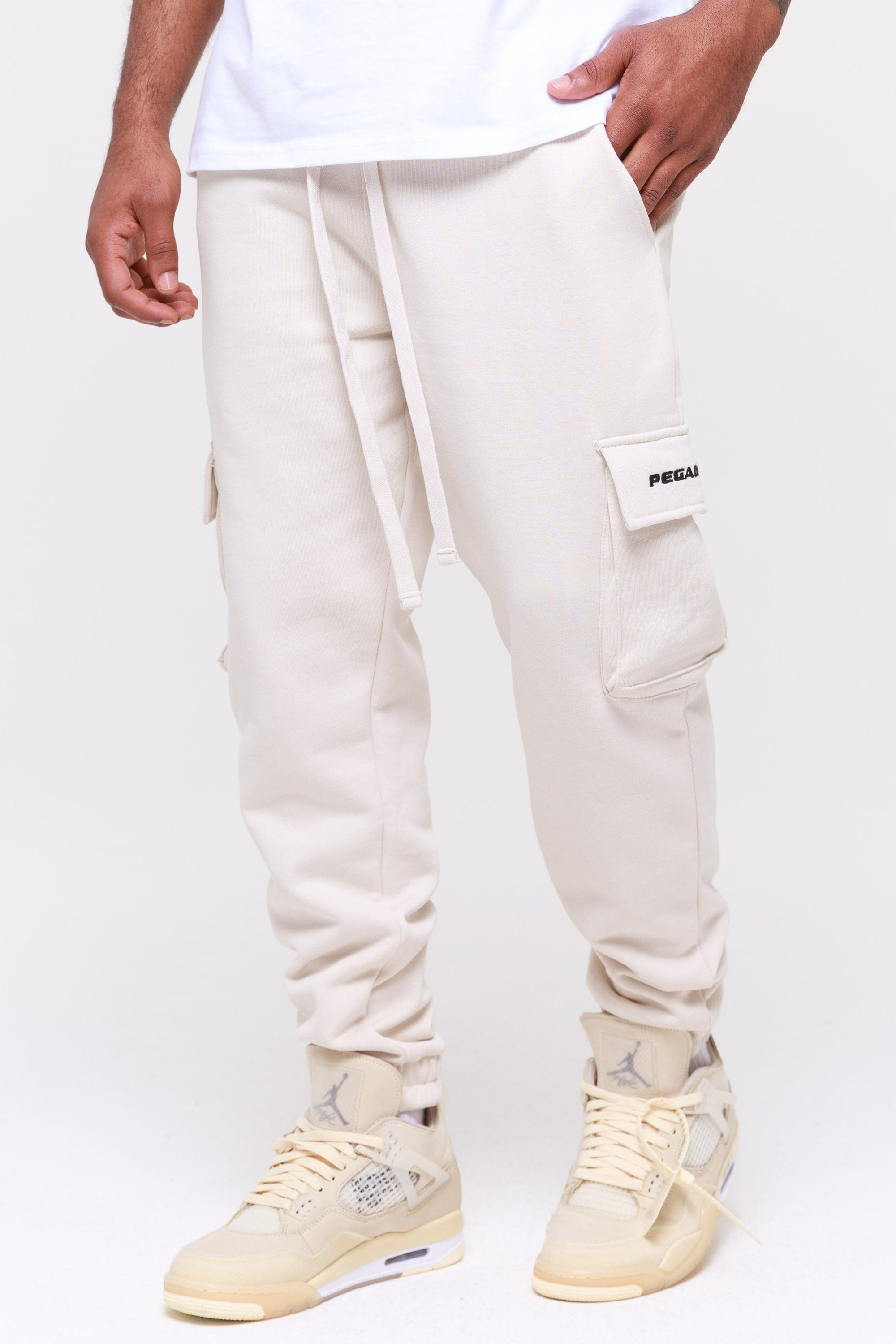 Idaho Heavy Utility Sweatpants Coconut Milk Pants Wild Society