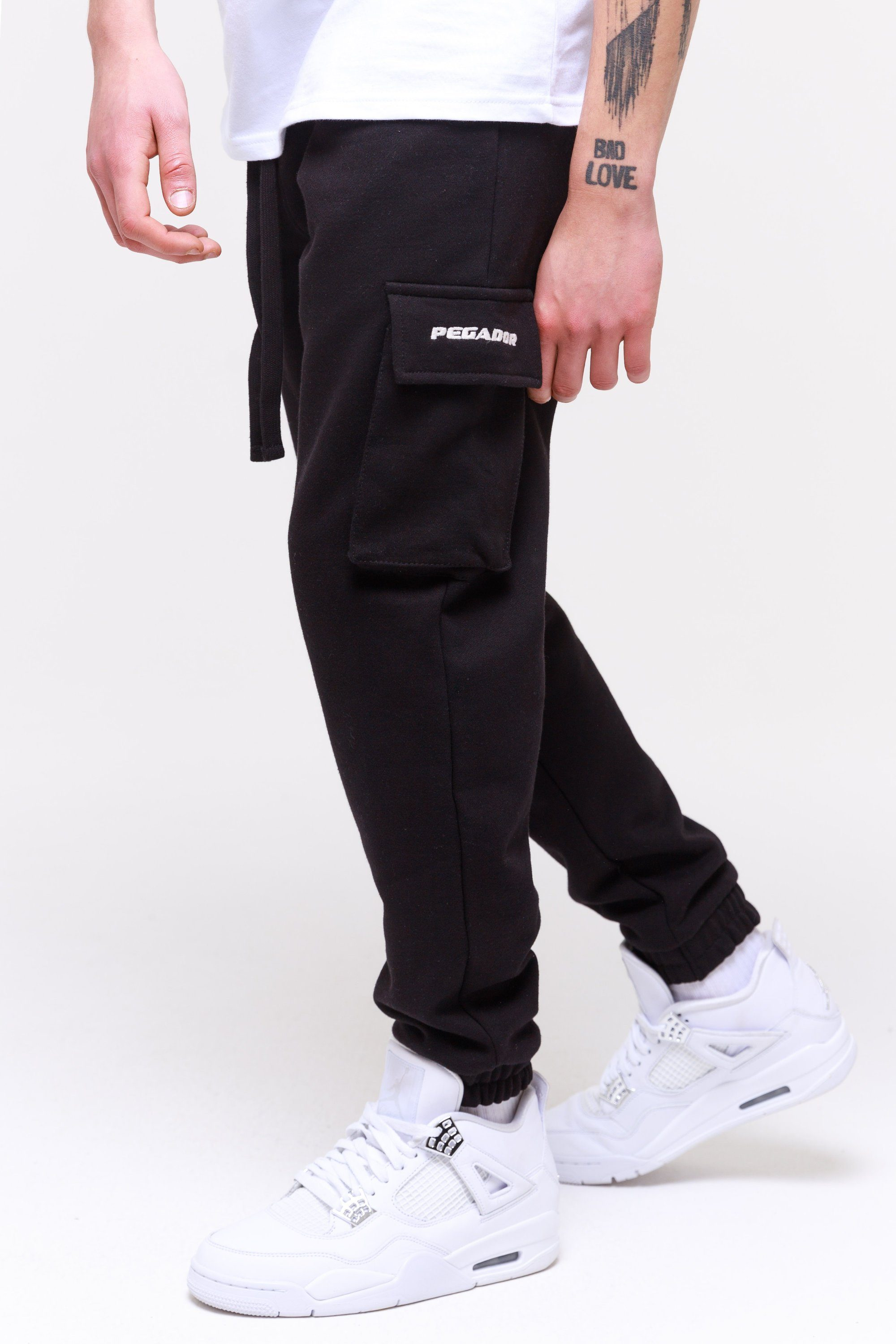 Idaho Heavy Utility Sweat Pants Black Pants Wild Society