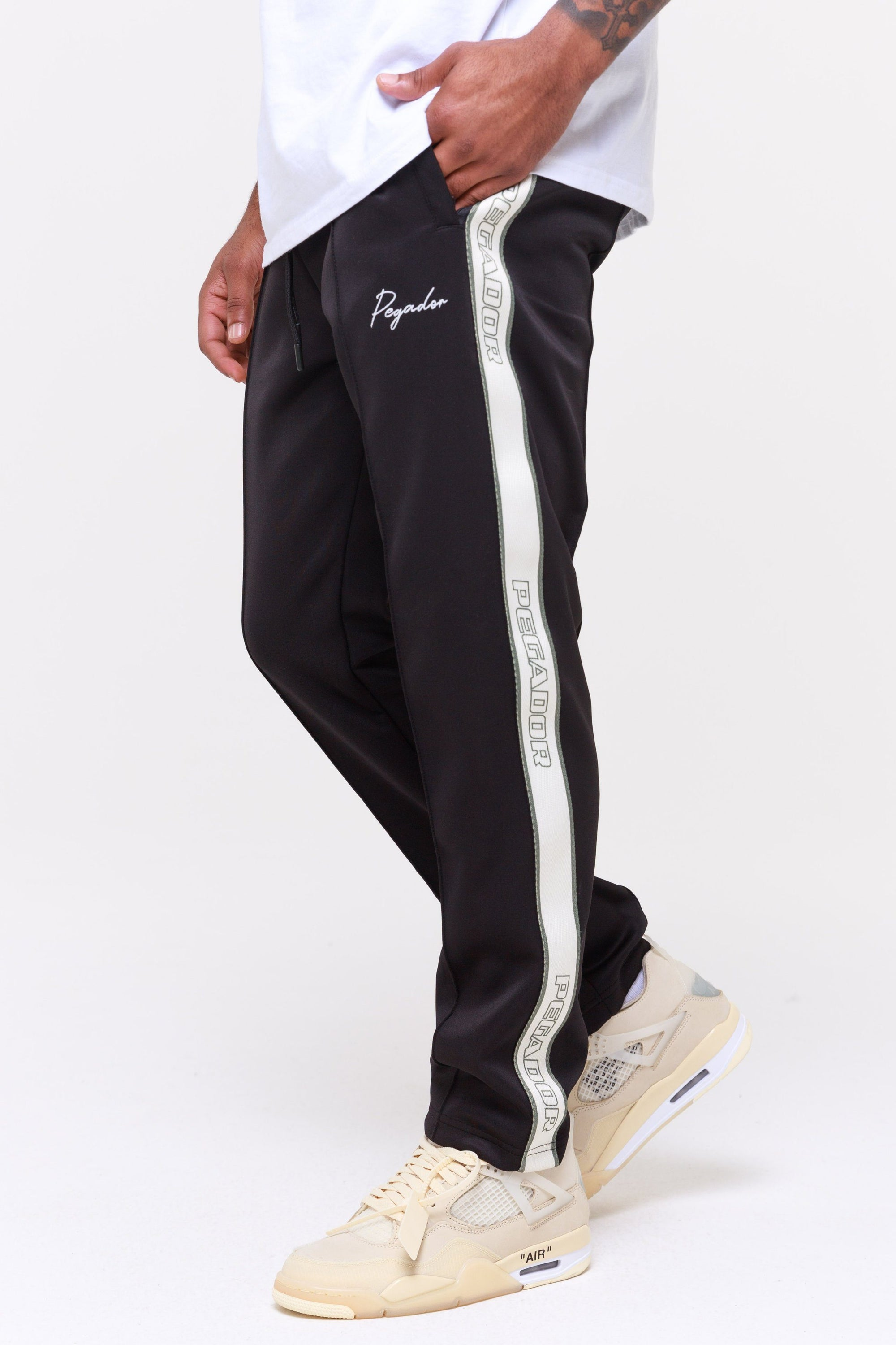 Wide Track Pants Black Cactus Pants Wild Society