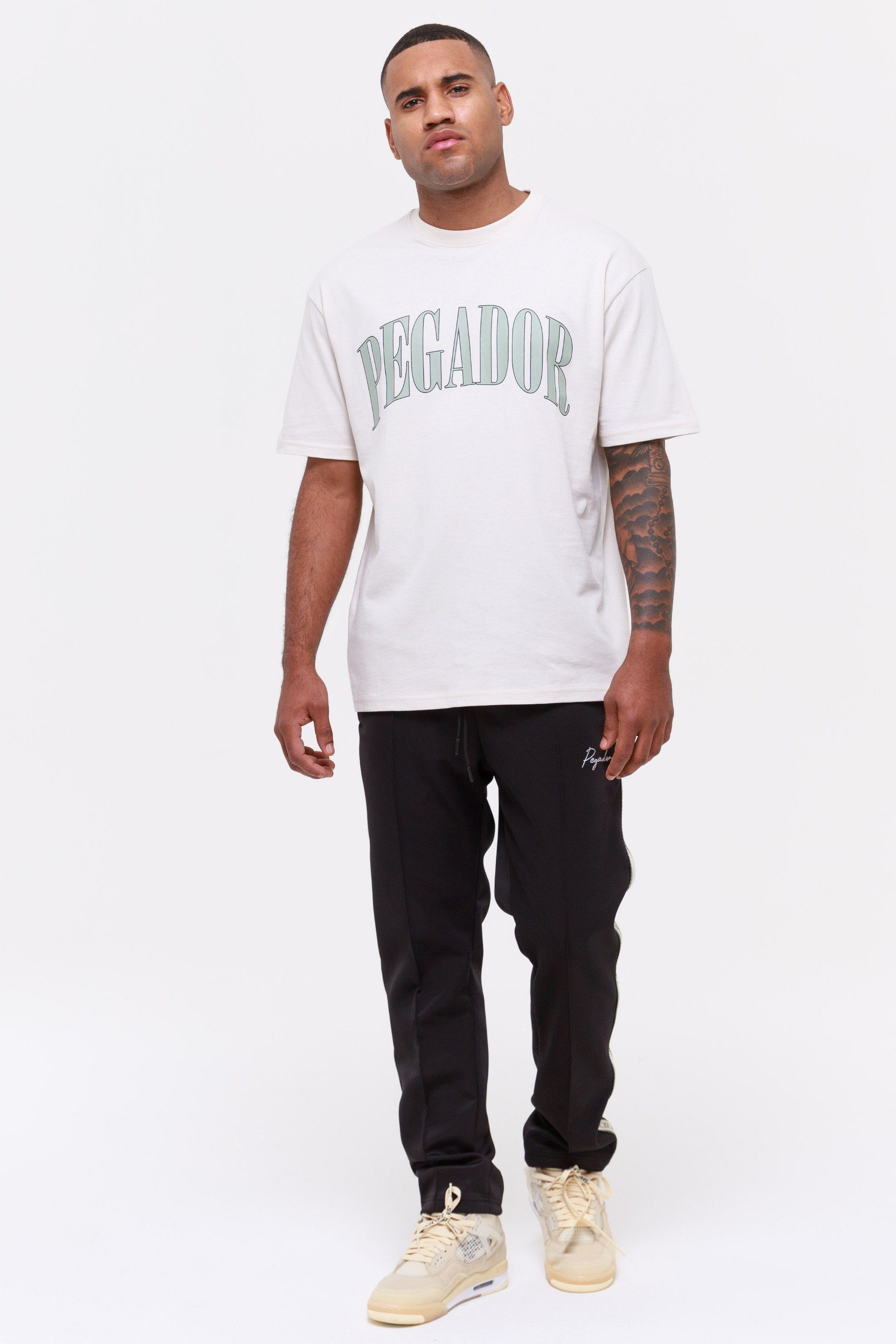 Cali Oversized Tee Coconut Milk T-SHIRT Wild Society