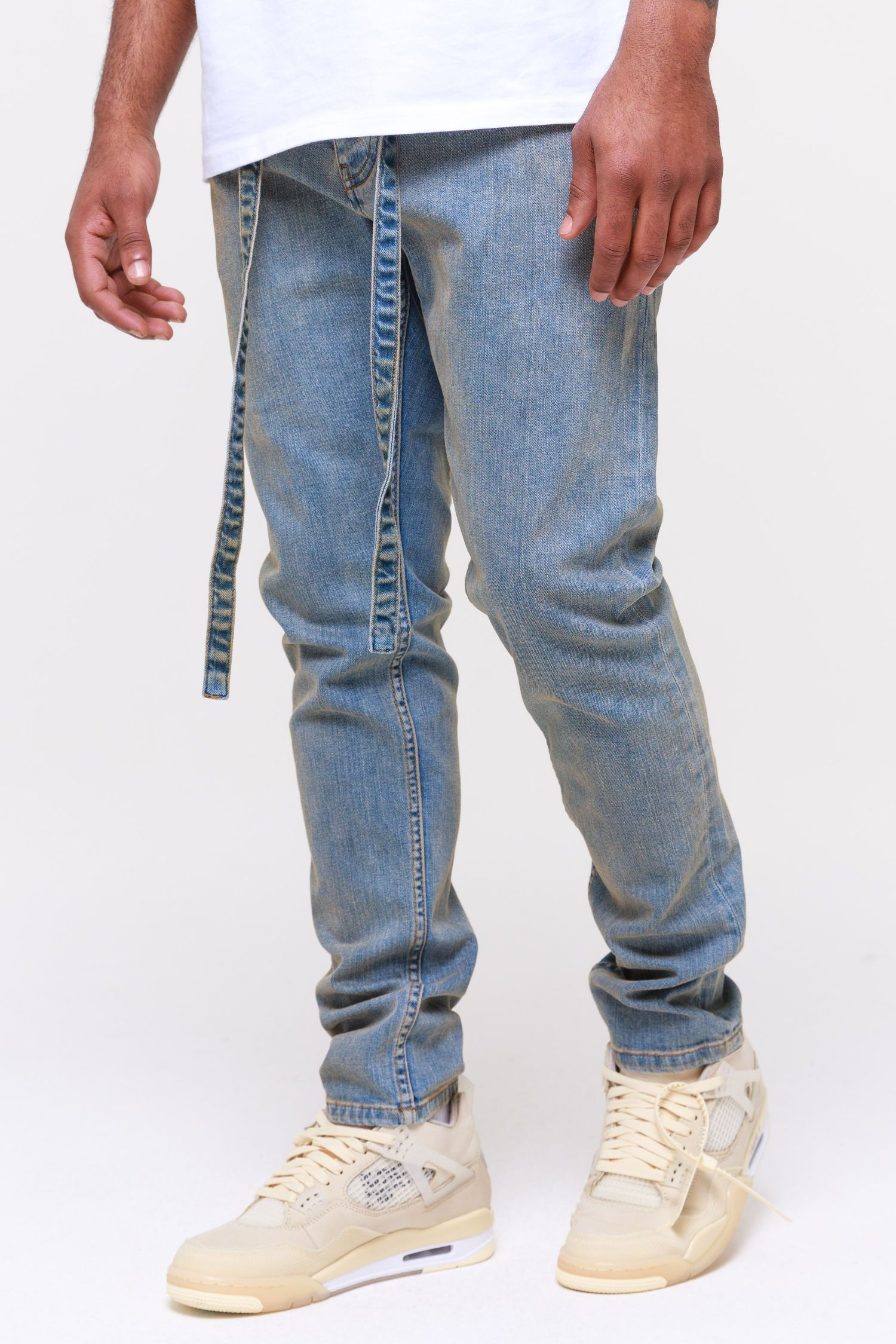 Moura Relaxed Jeans Straw Blue Jeans Wild Society