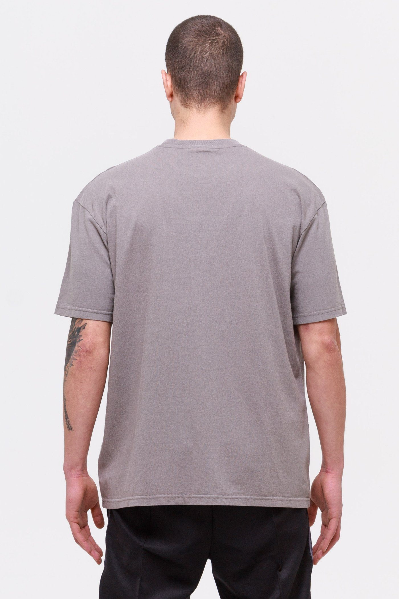 Cali Oversized Tee Washed Frost Grey T-SHIRT Wild Society