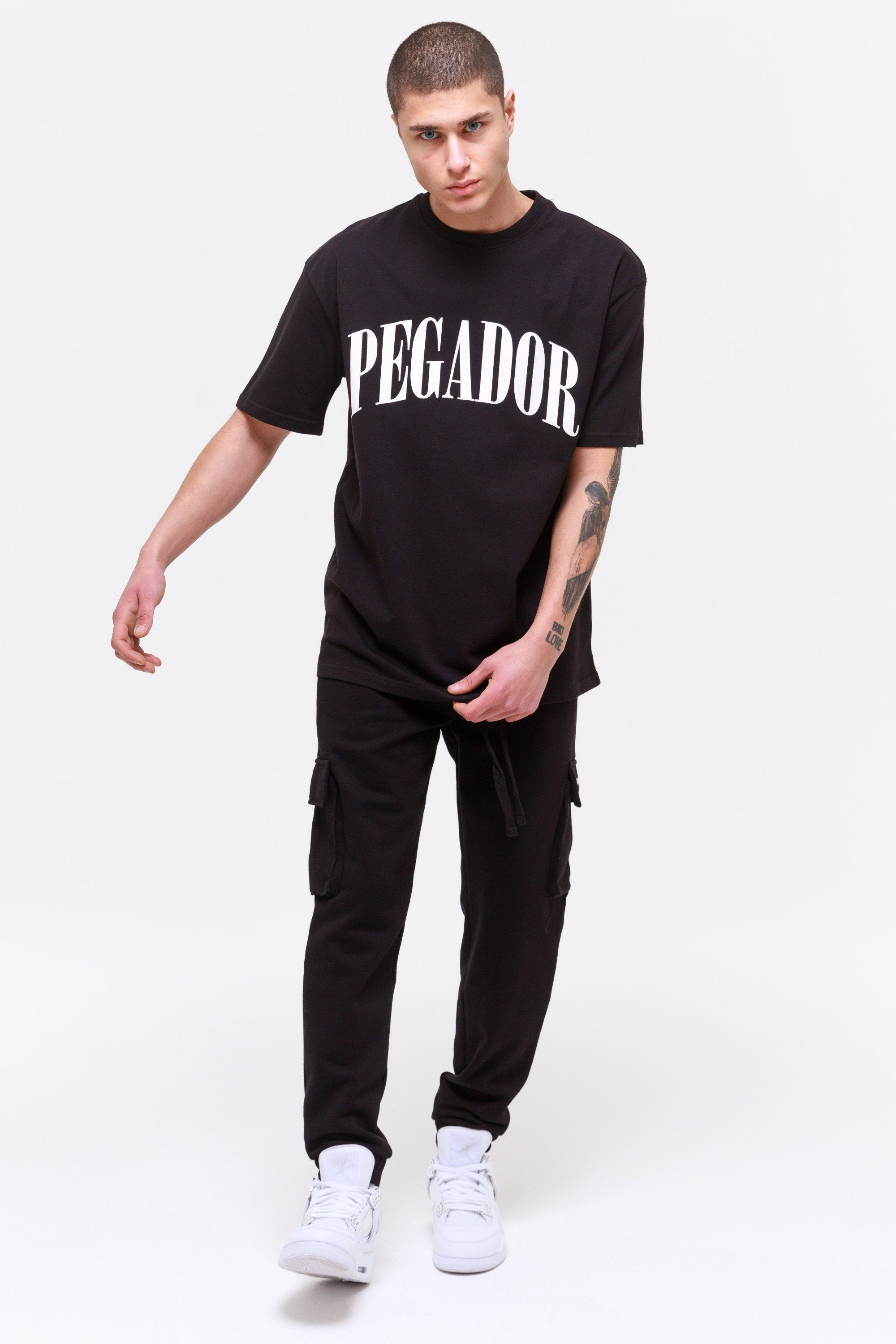 Cali Oversized Tee Black Coconut T-SHIRT Wild Society