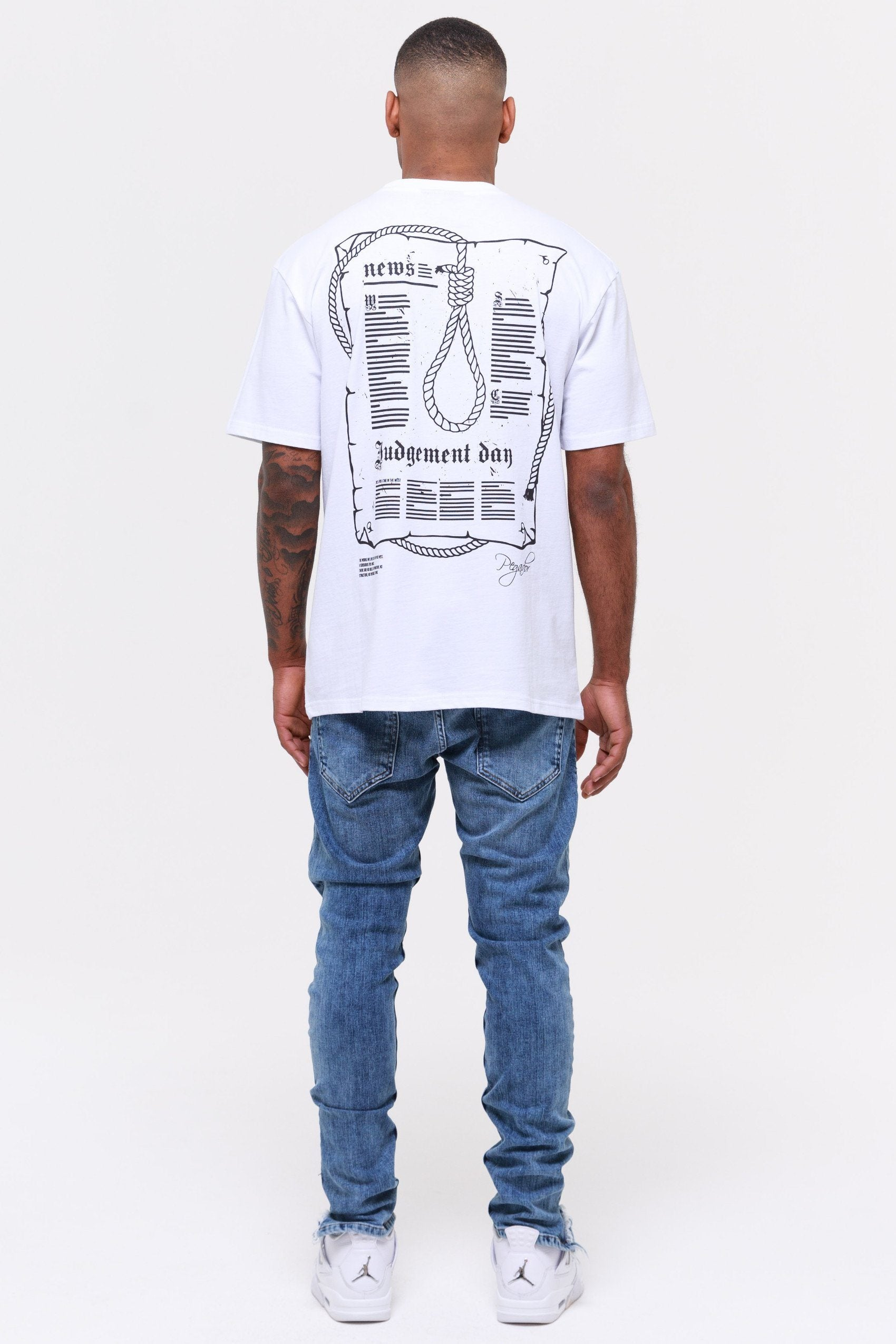 Dakota Oversized Tee White T-SHIRT Wild Society