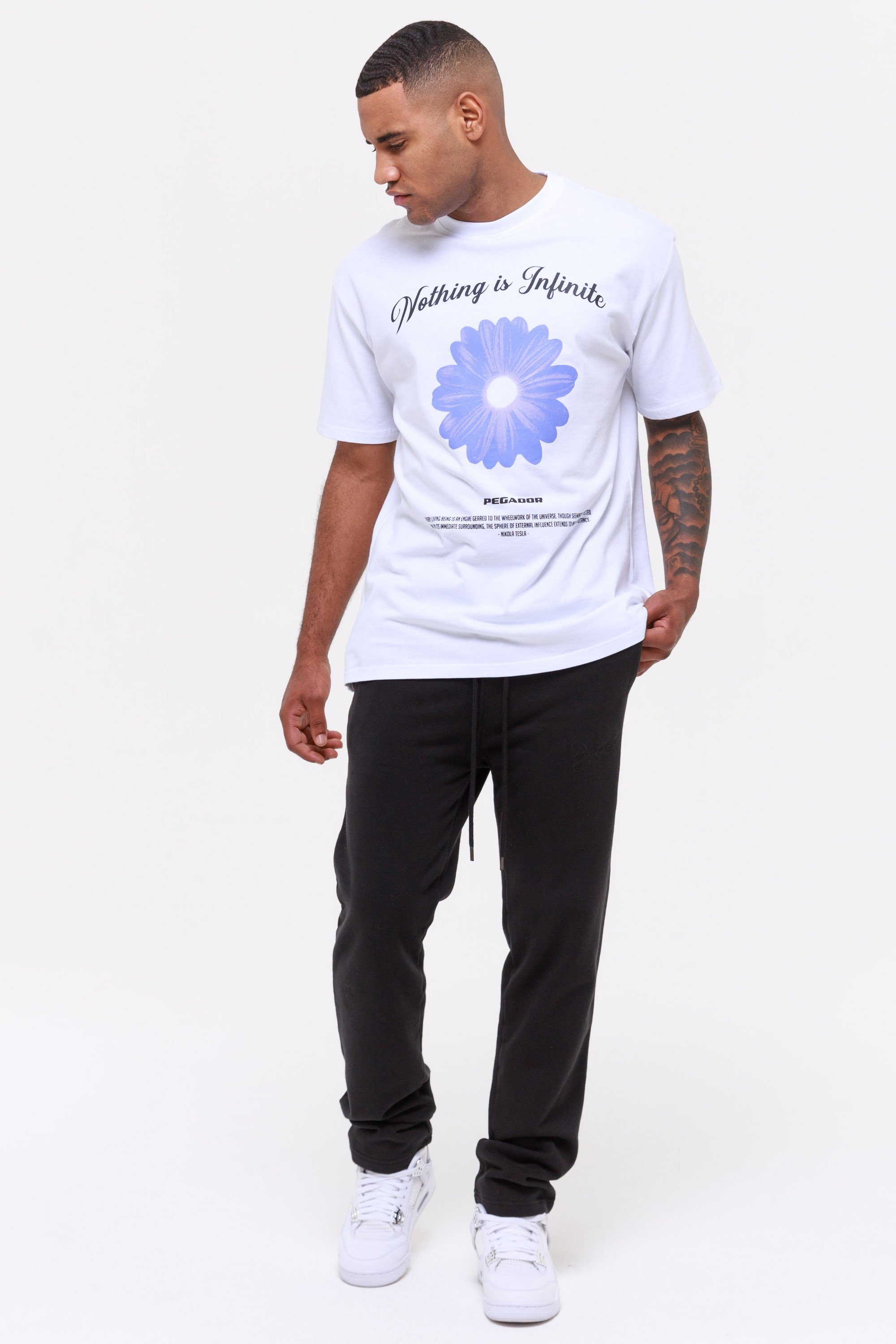 Rogers Oversized Tee White T-SHIRT Wild Society