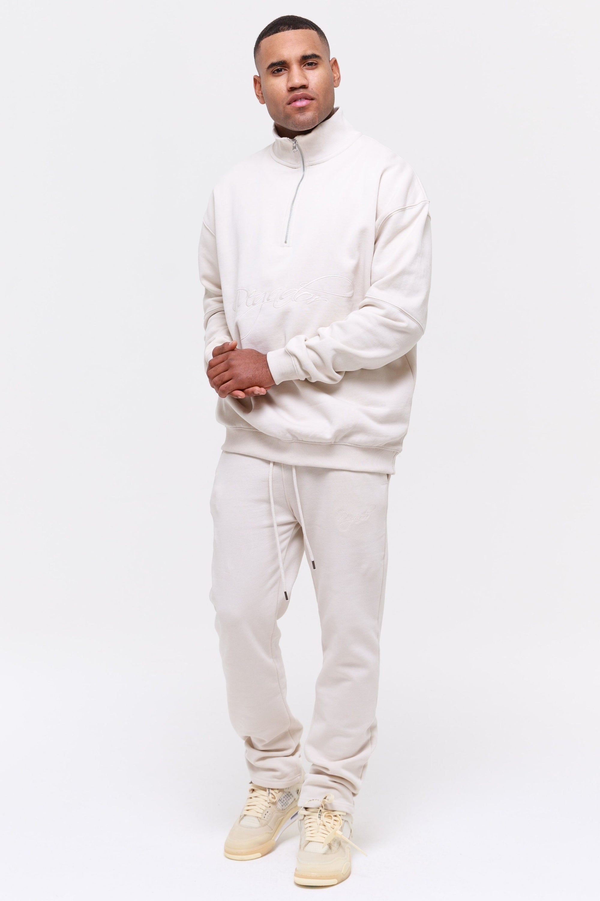 Yuma Wide Sweatpants Coconut Milk Pants Wild Society
