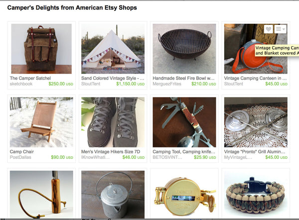 Camper's Delights from American Etsy Shops – Nomadic Grill +
