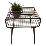 Forma Metal Side Table Planter  (FG9408) - Nomadic Grill + Home - 2