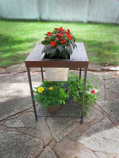 Forma Square Planter Side Table (#FG9404) - Nomadic Grill + Home - 1