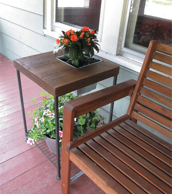 Forma Square Planter Side Table (#FG9404) - Nomadic Grill + Home - 3