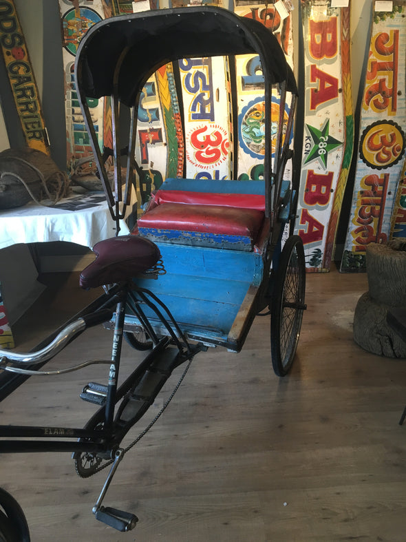 Indian bicycle rickshaw - for sale Nomadic Grill