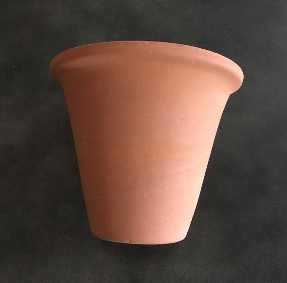 "Handmade Clay Pot (7.25"") from India (#IN7) - Nomadic Grill + Home - 5"