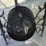 Large Tri-Pod Firebowl Cooking Set Includes Two Grill Grates, Stand, Firebowl (firepit), Firepower & Ash Remover - Nomadic Grill + Home - 2