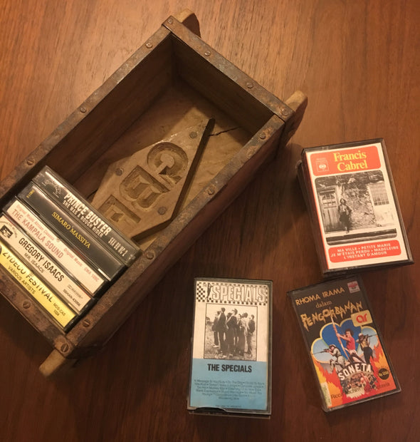 "Old Brick Mold From India, Perfect For Cassette Tape Storage, Rocks, Gems, Crafts, Knick Knacks and Treasures, 6""x12""x3.75"", Unique & Boho"