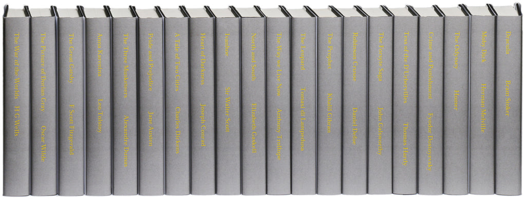 Printed Grey titled set B (non-fiction)